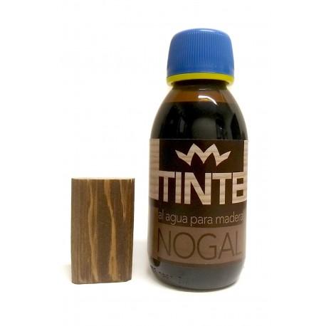 Tinte al agua para madera NOGAL distribuido por Artesanías Montejo