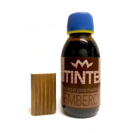 Tinte al agua para madera EMBERO distribuido por Artesanías Montejo