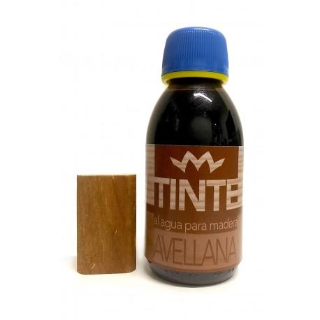 Tinte al agua para madera AVELLANA distribuidos por Artesanías Montejo
