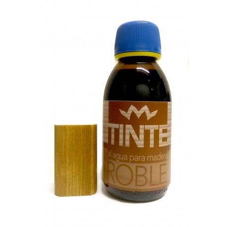 Tinte al agua para madera ROBLE distribuido por Artesanías Montejo