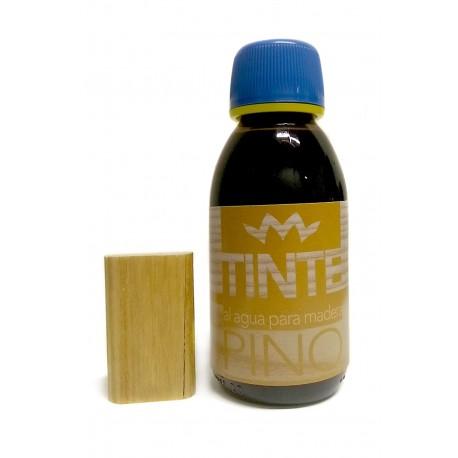 Tinte al agua para madera PINO distribuido por Artesanías Montejo