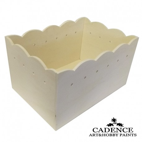 Cesto Rectangular CADENCE distribuida por artesanías Montejo