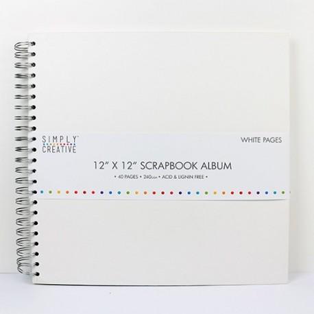 Álbum LISO BLANCO 30x30