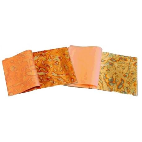 Libro 25 hojas variegatto rojo