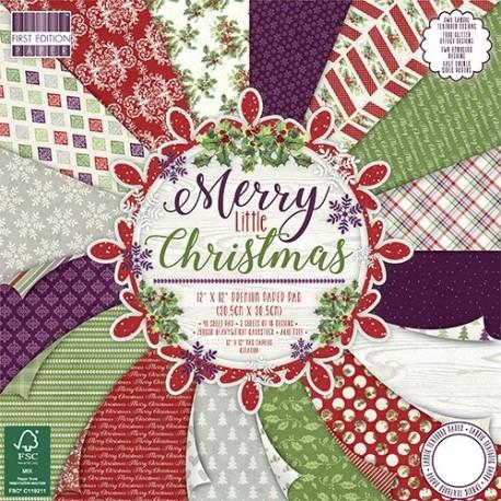 Merry Little Christmas 30x30