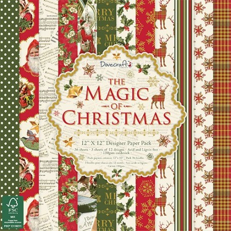 The Magic Of Christmas 30x30 papeles