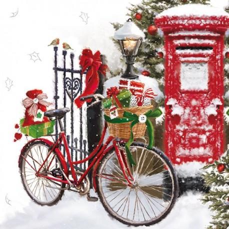 SERVILLETAS- Bike In Snow