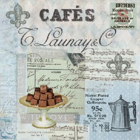 SERVILLETAS- Café Collage
