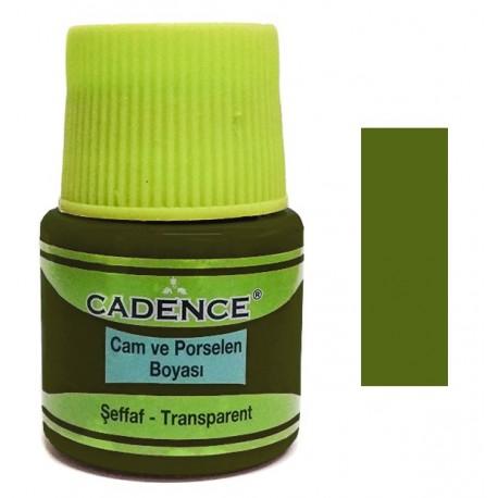 Vitral CADENCE Verde Aceite