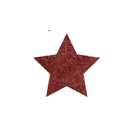 GLITTER POWDER PEN Hologr. Rojo