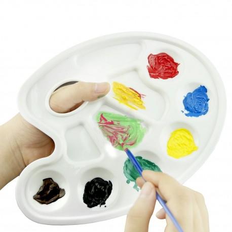 Paleta Plástico Oval 10 POCILLOS