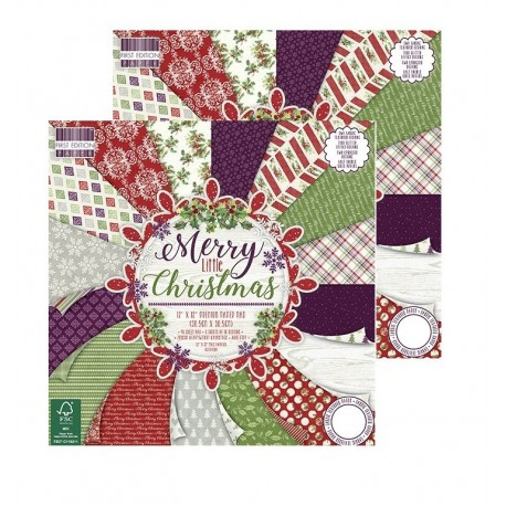 OFERTA Merry Little Christmas 30x30