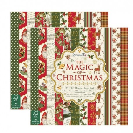 OFERTA The Magic Of Christmas 30x30 papeles