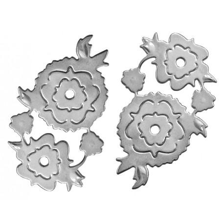 Silueta Aluminio ROSA