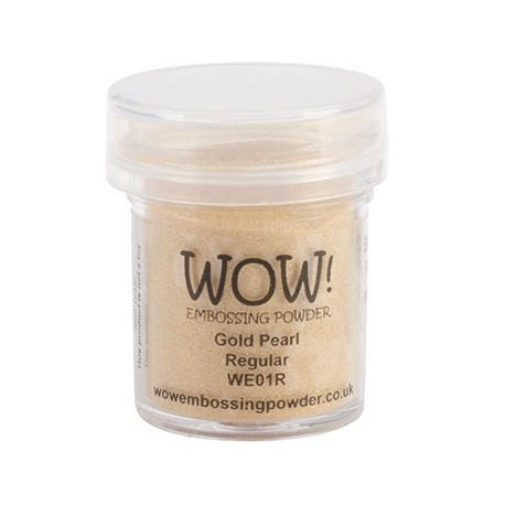 Polvo Embossing WOW Gold Pearl Regular