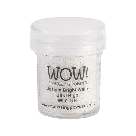 Polvo Embossing WOW Opaque Bright White Ultra High