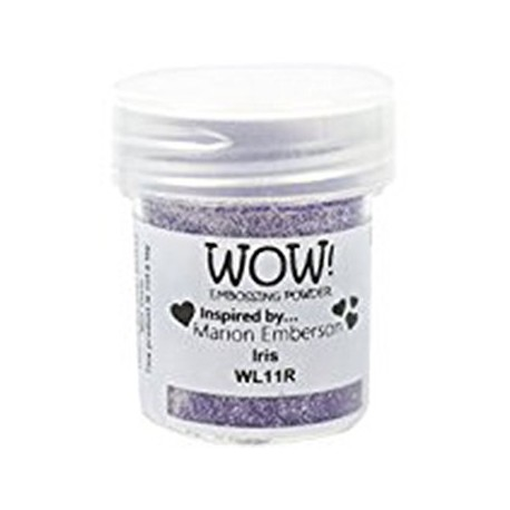 Polvo Embossing WOW Iris Regular