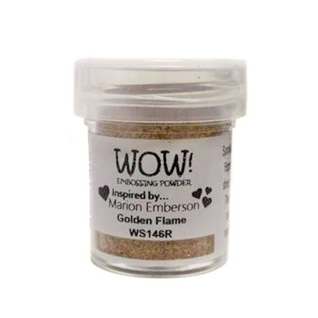 Polvo Embossing WOW Golden Flame Regular