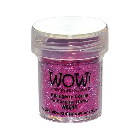 Polvo Embossing WOW Raspberry Coulis Regular