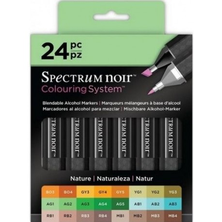 24 Espectrum Noir -NATURE