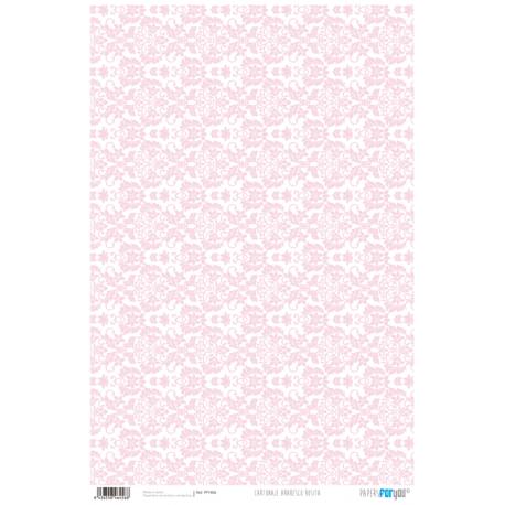 PFY Arabesco Rosa 50x35