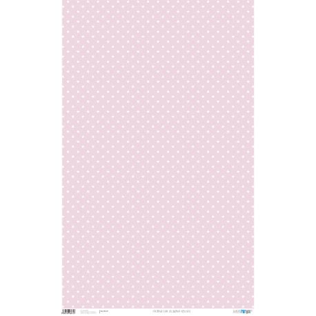 PFY Estrella Blanca Rosa Bebé 50x80
