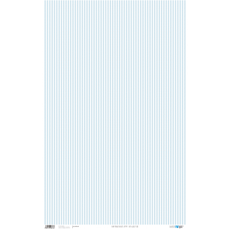 PFY Raya Fina Azul Bebé 50x80