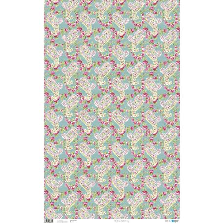 PFY Paisley Rosa 50x80