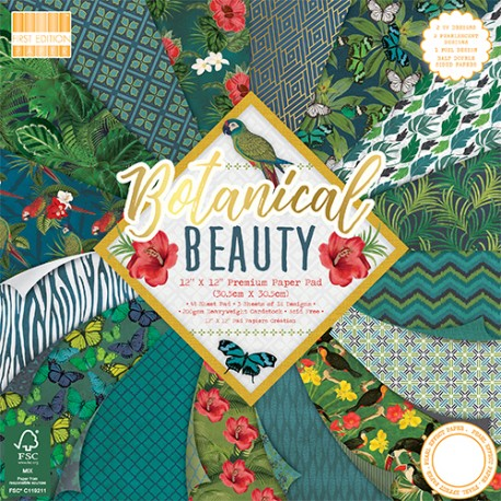 Botanical Beauty  FIRST EDITION 30x30