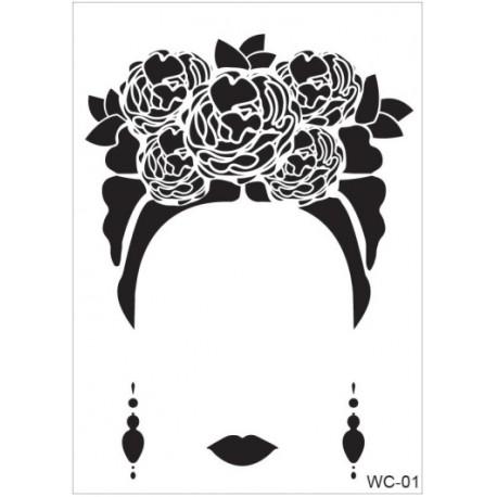 Stencil WOMAN A4 Cadence