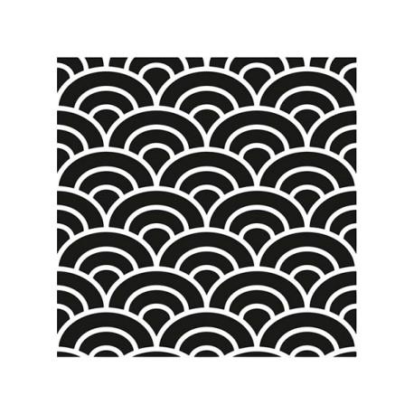 Stencil HOME DECOR 45x45cm