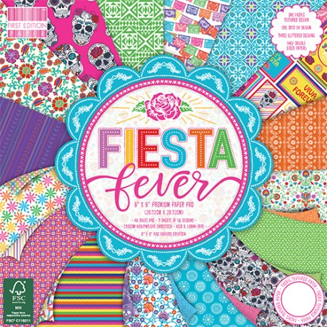 Fiesta Fever FIRST EDITION 30x30