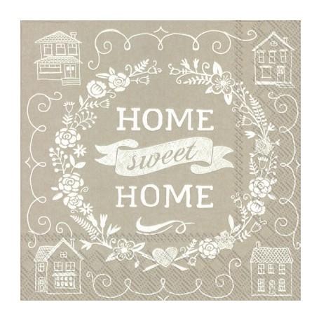 SERVILLETAS- Home Sweet Home Linen