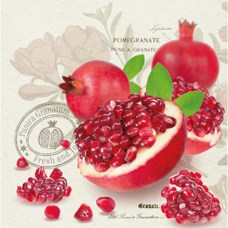 SERVILLETAS- Pomegranate
