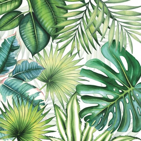 SERVILLETAS- Tropical Leaves