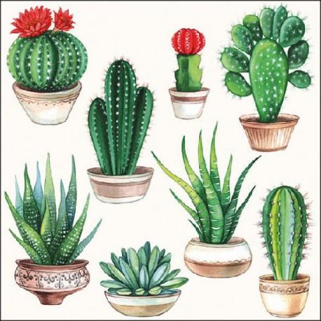 SERVILLETAS- Cactus