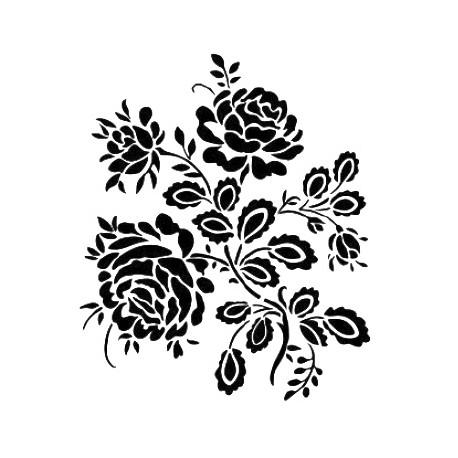 Stencil  ROSAS 21x30