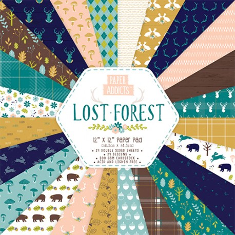 Paper Addict LOST FOREST  30x30
