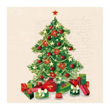 SERVILLETAS- Christmas Tree