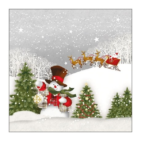 SERVILLETAS- Happy Holidays