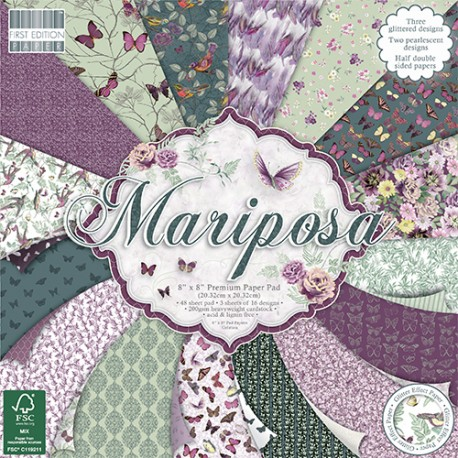 Mariposa FIRST EDITION 30x30