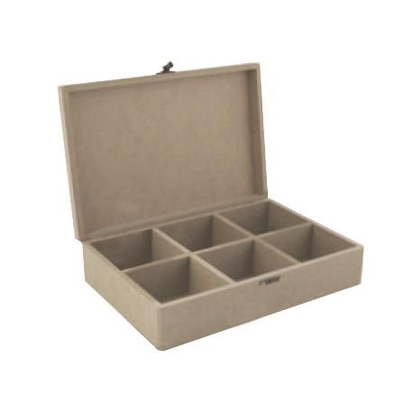 Caja para el Té DM CADENCE 30x20x8