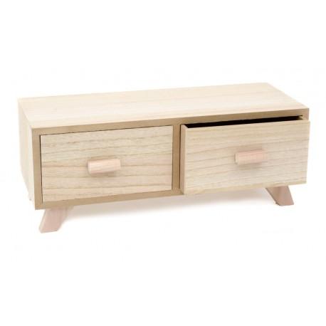 Mueble 2 Cajones 38x15x11cm