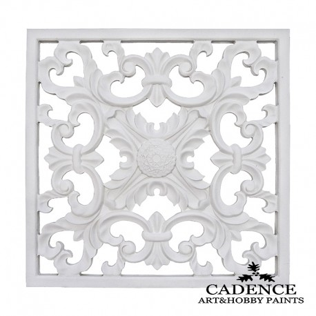 Placa Decorativa 28x28cm CADENCE