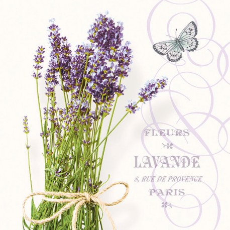SERVILLETAS- Bunch Of Lavender
