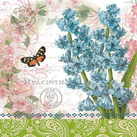 SERVILLETAS- Hyacinth