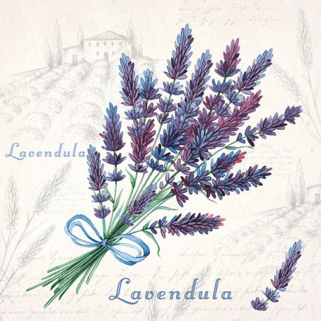 SERVILLETAS- Lavendula