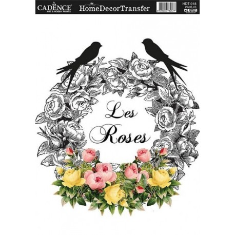 Transfers HOME DECOR Les Roses