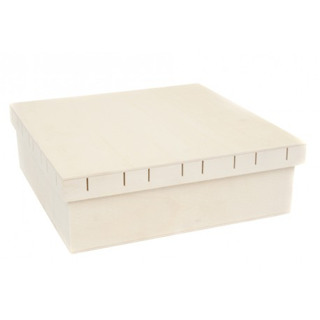 Caja Tapa Pasa Cintas Grande 31.5x31.5x10cm