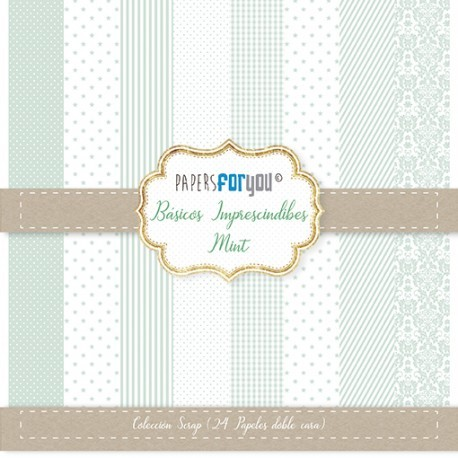 Paper For You MINI SHABBY CHIC MINT
